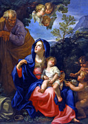 Holy Family Photos - Happy Dreams by Munir Alawi
