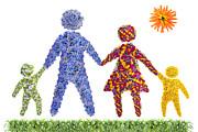 Aleksandr Volkov - Happy floral family