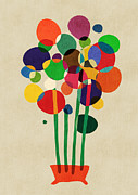 Budi Satria Kwan - Happy Flowers in The Vase