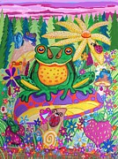 Nick Gustafson - Happy Frogs and Wild Flowers