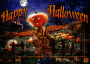 Christmas Cards Digital Art - Happy Halloween IV by Alessandro Della Pietra