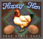 R christopher Vest - Happy Hen