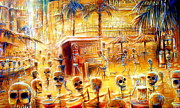Cantina Paintings - Happy Hour by Heather Calderon