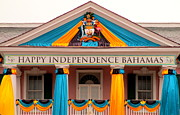 Bahamas Photos - Happy Independence Bahamas by Randall Weidner