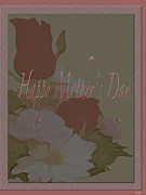Gratitude Card Posters - Happy Mothers Day  Poster by Debra     Vatalaro