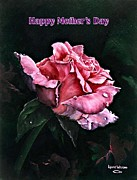 Sickness Painting Prints - Happy Mothers Day Print by Lynne Wright