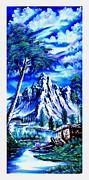 Happy Mountain  Print by Shirwan Ahmed