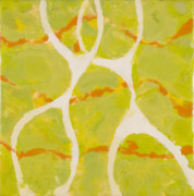 Encaustic Posters - Happy Together Poster by Marilyn Fenn