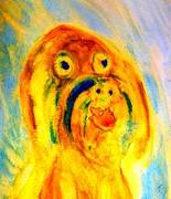 Happy Troll Print by Hilde Widerberg