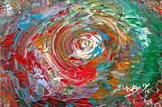 Swirl Originals - Happy Twirl by Donna Blackhall