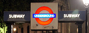 London England  Digital Art Originals - Happy Underground by Jason Melius