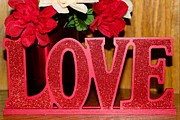 Secret Admirer Photos - Happy Valentines Day - Love - Forever5 by Barbara Griffin