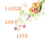Laugh Originals - Happy Words by Florene Welebny