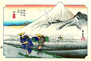 1833 Photos - Hara Station Tokaido Road 1833 by Padre Art