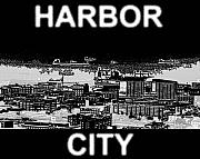 San Francisco Bay Mixed Media Posters - Harbor City Poster by Pharris Art