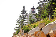 Airlines Photo Originals - Harbor Lighthouse by Charles Willis