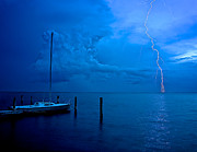 Lbi Prints - Harbor Storm Print by Mark Miller
