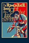 Sassan Filsoof - Hard as Nails vintage cycling poster