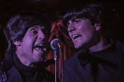 Fab Four Photo Prints - Hard Days Night Beatles Tribute Band Print by Salvador Gomez