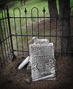 19th Century Cemetery Prints - HARD LIFE in ELKHORN MONTANA Print by Daniel Hagerman