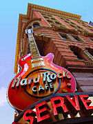 Hard Rock Cafe Building Posters - Hard Rock Cafe  Poster by Stella Spera