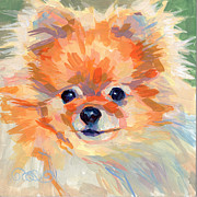 Toy Dog Paintings - Hardley A Hadley by Kimberly Santini