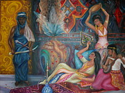 Harem Metal Prints - Harem  Metal Print by Angelina Bercovich