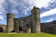 Wales Framed Prints Framed Prints - Harlech  Castle  Wales 1 Framed Print by Paul Cannon