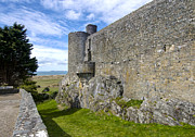Wales Framed Prints Posters - Harlech  Castle  Wales 3 Poster by Paul Cannon