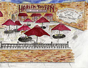 Harlem Paintings - Harlem Tavern by Lynn Lieberman