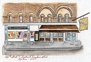 Harlem Paintings - Harlem Underground and Chocolat in Harlem by Lynn Lieberman