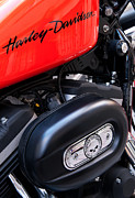 Harley Davidson Framed Prints - Harley Davidson 01 Framed Print by Rick Piper Photography