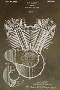 Harley Davidson Engine Print by Dan Sproul