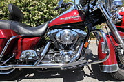 Harley Davidson Photos - Harley-Davidson Motorcycle . 5D23604 by Wingsdomain Art and Photography
