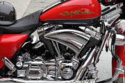Harley Davidson Photos - Harley-Davidson Motorcycle 5D24766 by Wingsdomain Art and Photography
