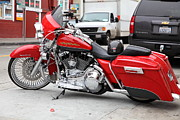 Harley Davidson Photos - Harley-Davidson Motorcycle 5D24767 by Wingsdomain Art and Photography