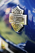 Badge Photos - Harley Davidson Motorcycle Abstract by Tim Gainey
