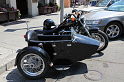 Harley Davidson Photos - Harley-Davidson With Sidecar 5D24435 by Wingsdomain Art and Photography