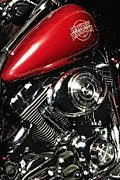 Captive Images Photography Posters - Harley Electra-Glide Poster by John Kiss