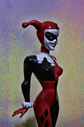 Shakespeare Metal Prints - Harley Quinn the Harlequin Metal Print by Lee Dos Santos