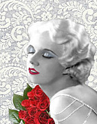 Harlow Digital Art Prints - Harlow #9 Print by Maureen Tillman