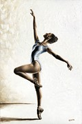 Pointe Prints - Harmony and Light Print by Richard Young