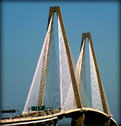 Interstates Prints - HARMONY of CHARLESTON Print by Karen Wiles