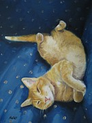 Jindra Noewi Originals - Harold the Orange Cat by Jindra Noewi