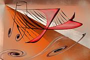 Harp Print by Rick Thiemke