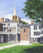 Tom Dorsz - Harpers Ferry Courtyard