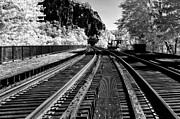Ir Prints - Harpers Ferry main line Print by Paul W Faust -  Impressions of Light