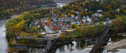 Harpers Ferry Photos - Harpers Ferry Panoramic by Bernard Chen