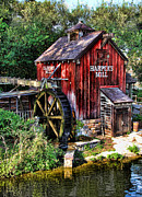 Old Mills Prints - Harpers Mill II Print by Lee Dos Santos