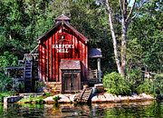 Gone Fishing Photos - Harpers Mill by Lee Dos Santos